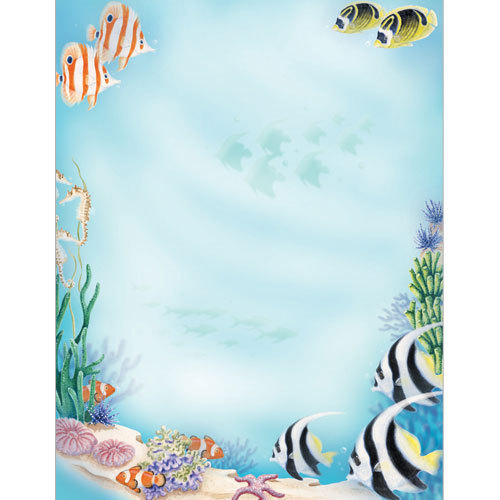 Letter Paper Under the Sea Great Papers- Doreens Briefpapierwelt