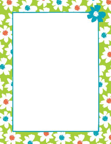 Letter border dolapgnetband letter border letter paper flowers mightylinksfo