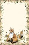 Letter Pad Fox Posies and Such USA