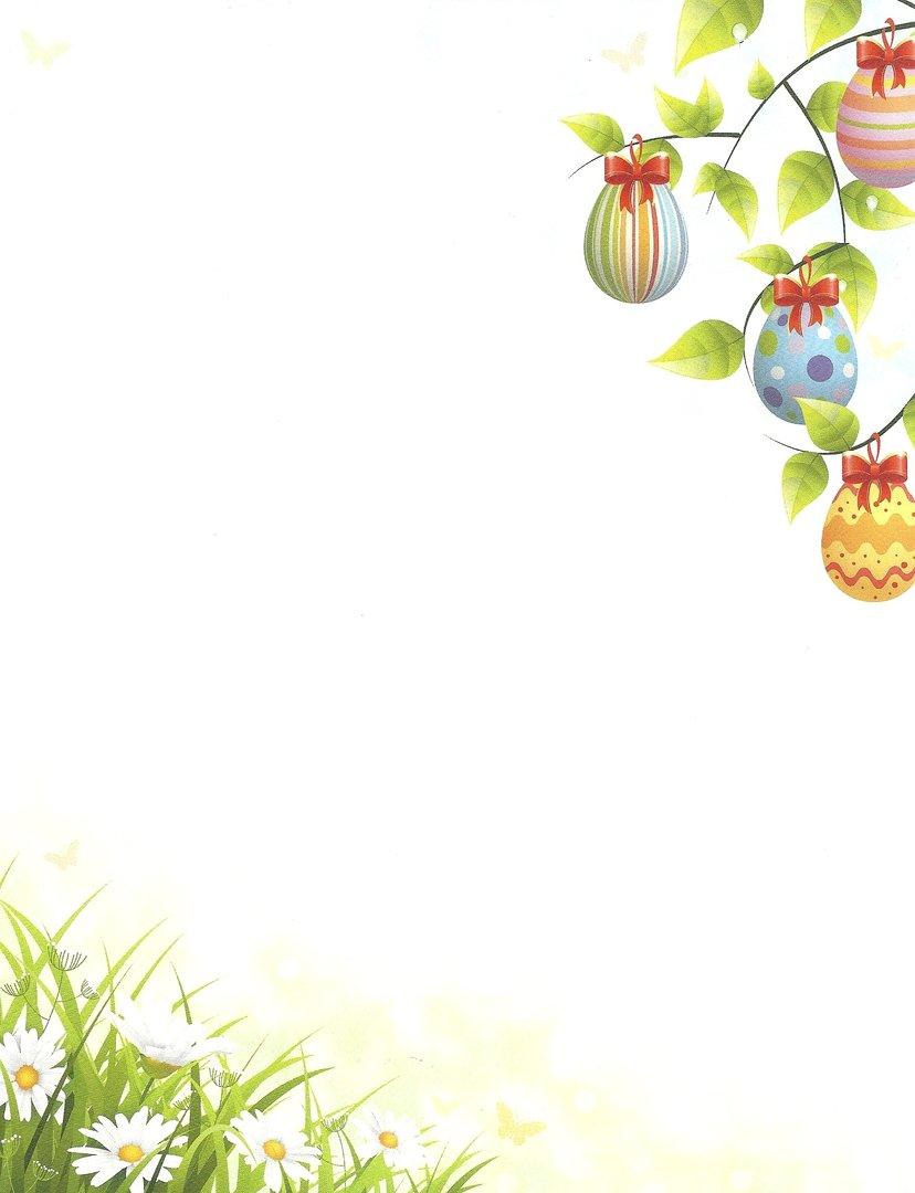 Briefpapier Easter Tree Idea Art- Doreens Briefpapierwelt
