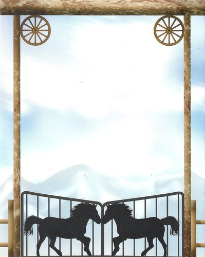 Briefpapier Western Gateway Idea Art