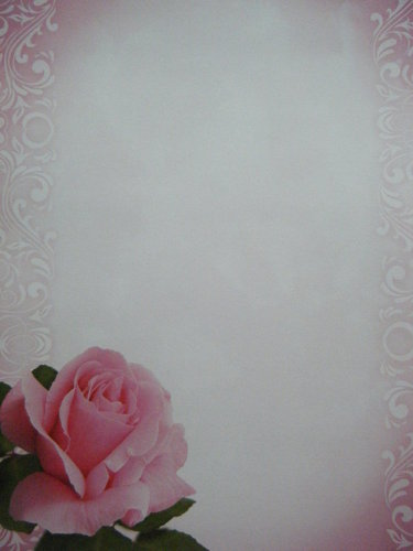 Briefpapier One Rose Paper Direct