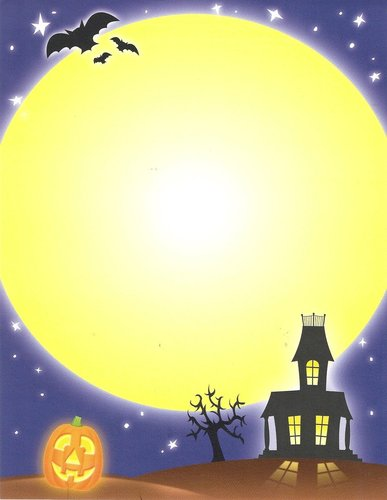 Briefpapier Spooky House Paper Direct