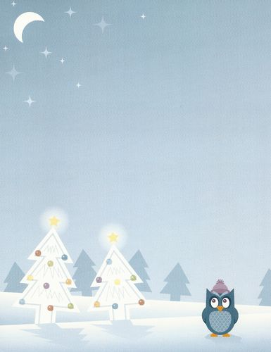 Briefpapier Silent Night Owl Idea Art