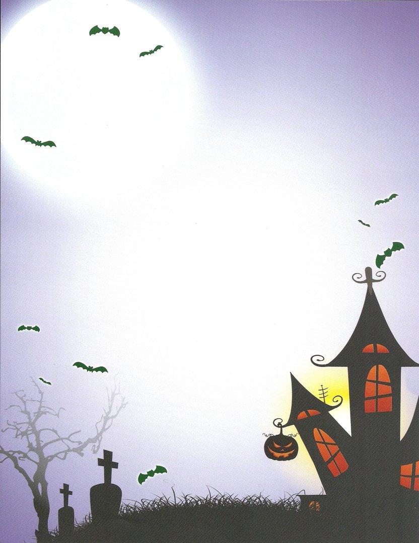 Briefpapier Halloween Idea Art Doreens Briefpapierwelt