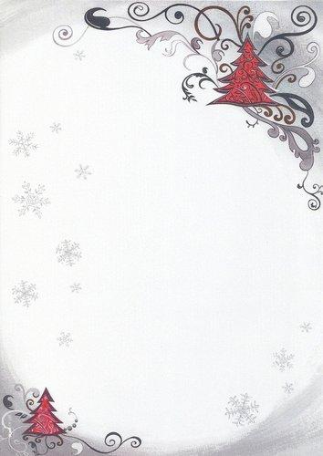 briefpapier weihnachtsbaum doreens briefpapierwelt. Black Bedroom Furniture Sets. Home Design Ideas