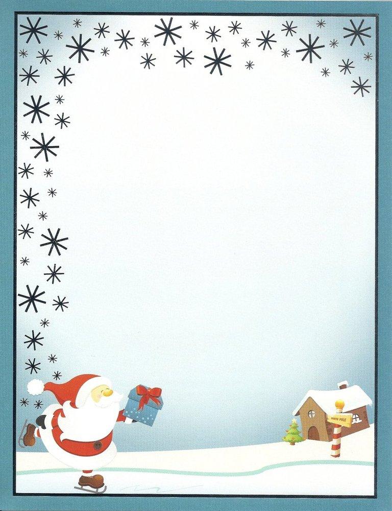 Letterhead ice skating santa paper direct doreens briefpapierwelt letterhead ice skating santa paper direct spiritdancerdesigns Images