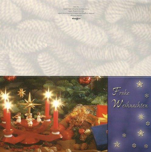 Weihnachtskarten Deutschland.Weihnachtskarten Aus Deutschland Doreens Briefpapierwelt