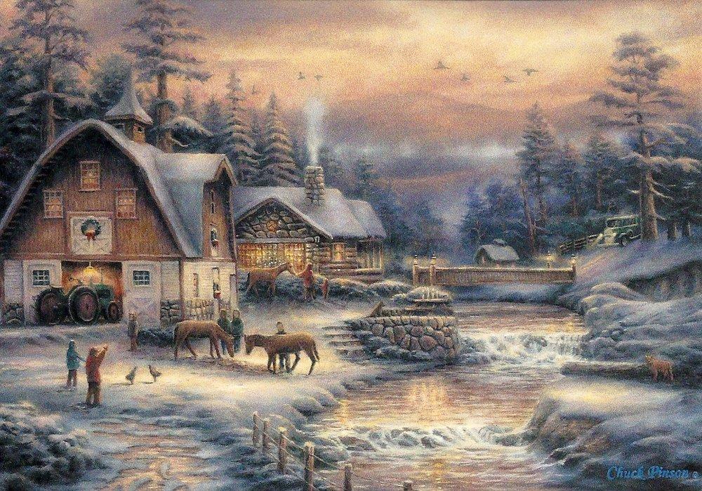 Leanin Tree Christmas Cards.Christmas Card Nostalgy Leanin Tree Usa