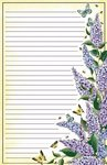 Letter Pad Lilacs Posies and Such USA