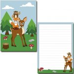 Letter Pad Forest Animals IdeenStadl A5