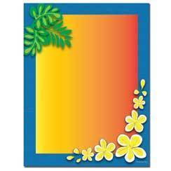Briefpapier Tropical Paradise Image Shop
