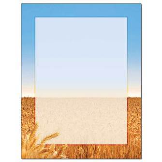 Briefpapier Wheat Field The Image Shop
