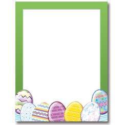 Briefpapier Easter Eggs Image Shop
