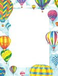 Letter Paper Balloon Perfect Print