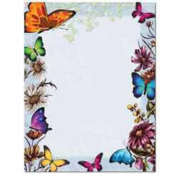 Briefpapier Butterflies Image Shop