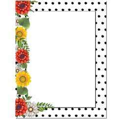 Briefpapier Daisy Dots Image Shop