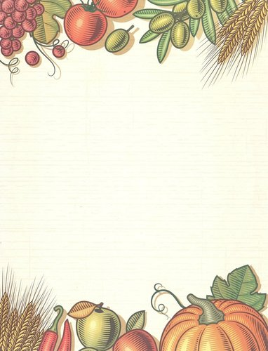 Briefpapier Fall Harvest Table Desktop Publishing Supplies