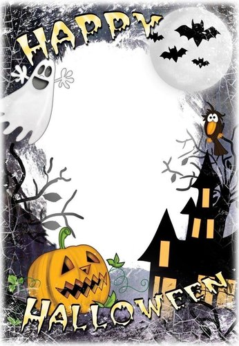 Briefpapier Halloween Castle Wolfgang Pudlich