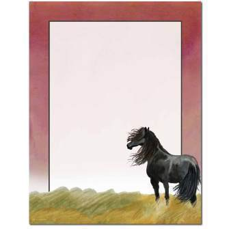 Briefpapier Black Stallion Image Shop