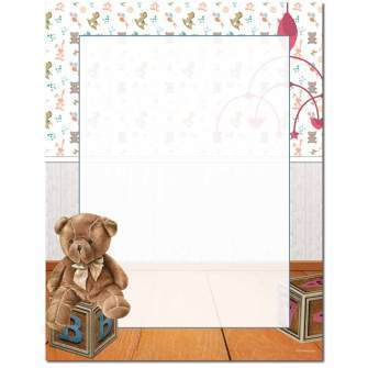 Briefpapier Nursery Image Shop