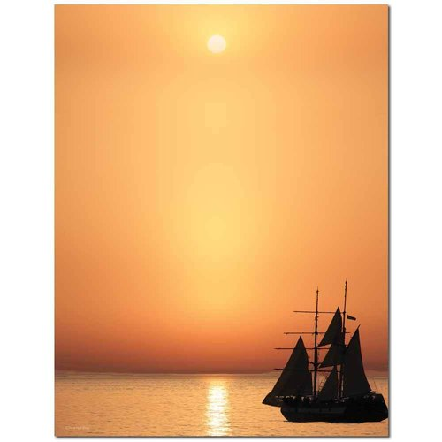 Briefpapier Sail Away Image Shop